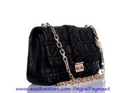 Wholesale Christian Dior Black Matt Leather Miss Dior Bag Free shippin