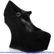 Christmas Promotion, Sale Giuseppe Zanotti Black Suede Sculpted Wedges