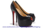 Wholesale Christian Louboutin Highness Platform Pump 160mm Black Sheep