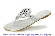 Wholesale Tory Burch Patent LeaToryBurcher Miller Sandal White Paypal